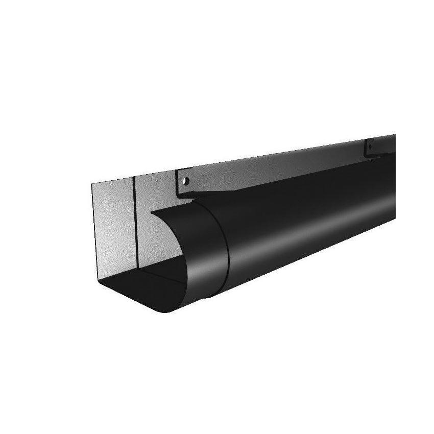 Aluminium Bullnose Guttering
