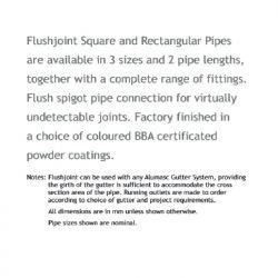 Alumasc Flushjoint Square...