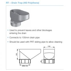 Lindab Drain Trap For...