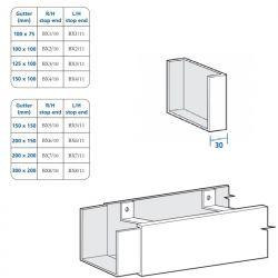 Box Aluminium Joggle Gutter...