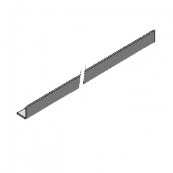 Skyline Aluminium Closer Trim 1 Bend