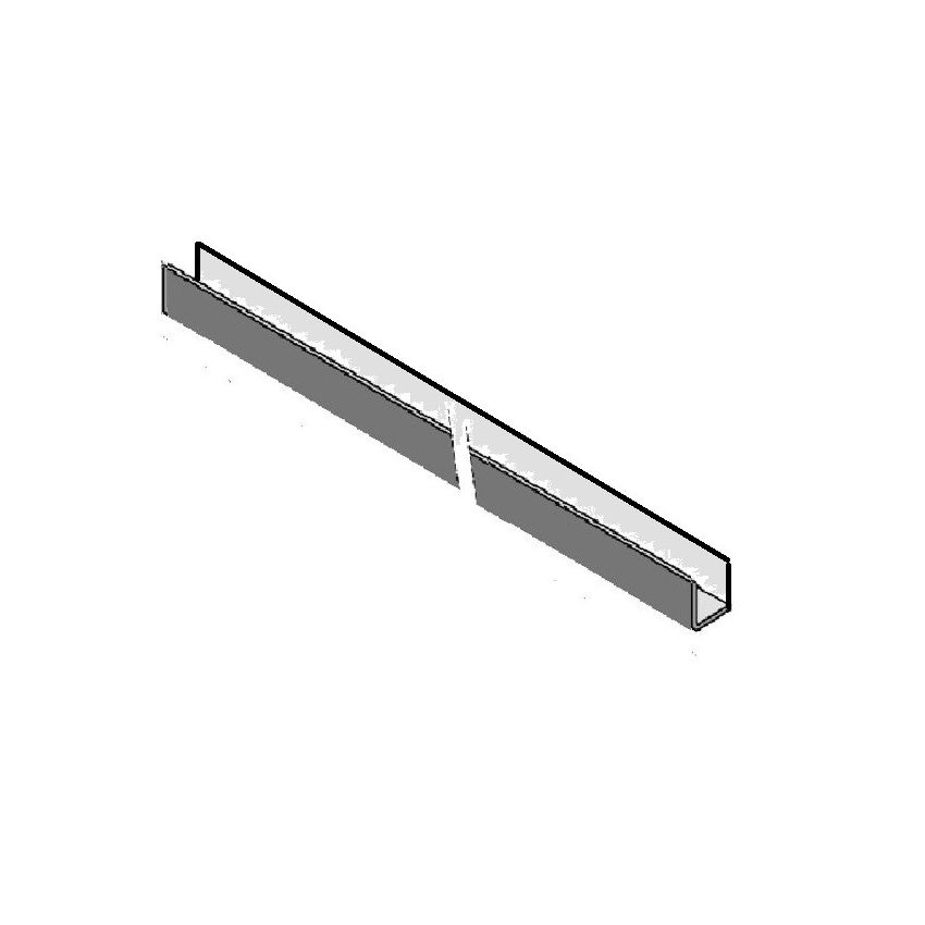 Skyline Aluminium Closer Trim 1 Bend