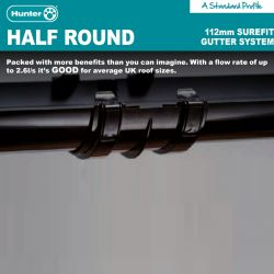 Hunter Surefit 112mm Half...
