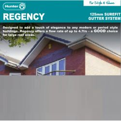 Hunter Regency 125mm Gutter...