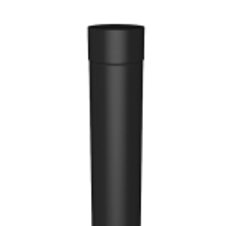 Round Swaged Aluminium Downpipes