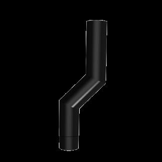 Round Flush Joint Aluminium Downpipes