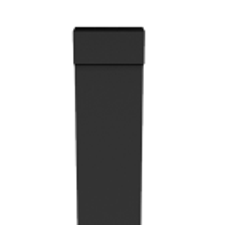 Rectangular Swaged Aluminium Downpipes