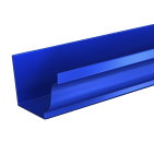 AX Moulded Aluminium Gutters