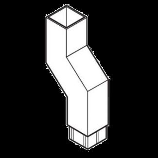 Flush Joint Aluminium Square Pipes